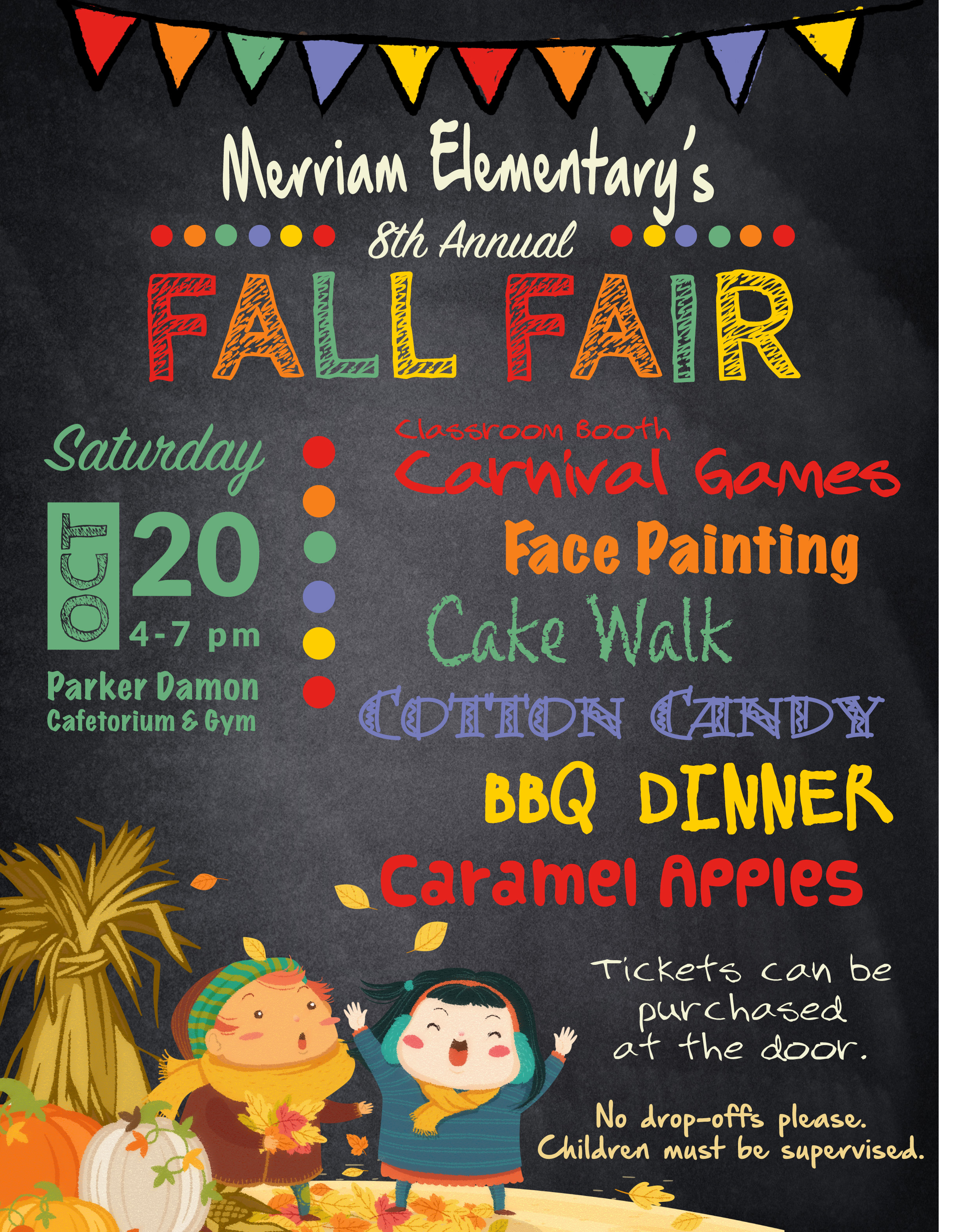 Merriam's 8th Annual Fall Fair! @ Merriam Gym and Cafetorium | Acton | Massachusetts | United States