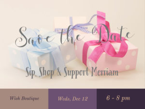 Sip, Shop, & Support Merriam @ Wish Boutique @ Wish Boutique | Acton | Massachusetts | United States