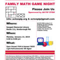 Family Math Game Night – AB PIP STEM