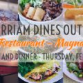 Merriam Dines Out at Gigi's! – February 13!