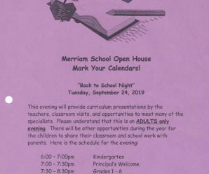Back to School Night! (see you there!)