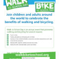 Walk-Bike to School Day – Wednesday, October 2nd, 2019