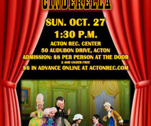 Tanglewood Marionettes Presents Cinderella – Sun, Oct 27th @ 1:30pm