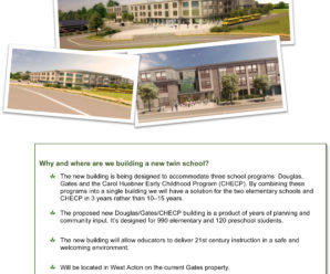 Douglas/Gates/Preschool Building Project – The Whys, the How Much's, The Upcoming Information Sessions!