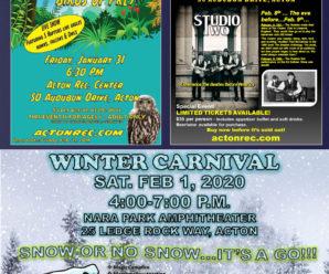 Acton Rec – Winter Fun Activities
