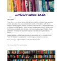 Literacy Week 2020 – March 2-6th