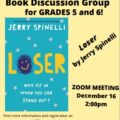 Grade 5/6 Book Group