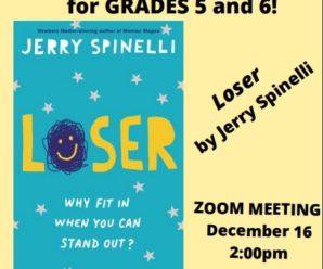 Grade 5/6 Book Group