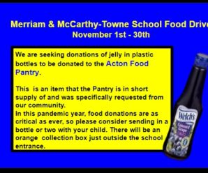Food Drive Continues!