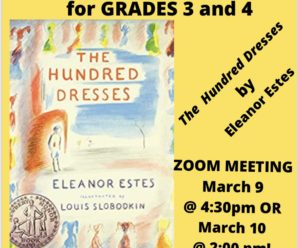 March Grade 3/4 Book Club