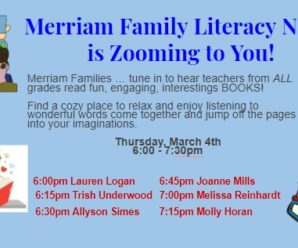 Merriam Family Literacy Night (Virtual)
