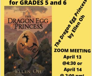 Grades 5/6 April Book Club
