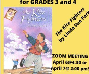 Grades 3/4 April Book Club