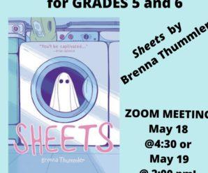 GRADES 5/6 MAY BOOK CLUB