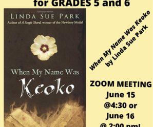 Grades 5/6 Book Club