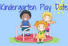 Save the Dates for Kindergarten  Playdates!