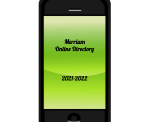 Merriam Directory – now  available online in the Parent Portal